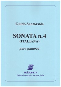 Sonata no.4, Italiana(Gilardino) available at Guitar Notes.