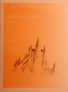 Castles of Spain, 2nd Series(Lorimer) available at Guitar Notes.