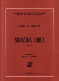 Sonatina Lirica,op.48 available at Guitar Notes.