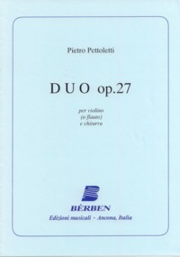 Duo, op.27(Agostinelli/Rossini) available at Guitar Notes.