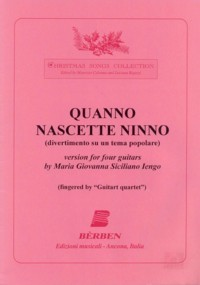 Quanno Nascette Ninno [4gtr] available at Guitar Notes.
