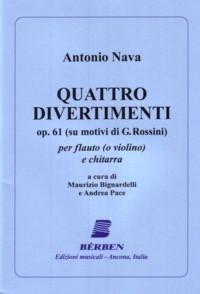 Quattro Divertimenti, op.61 available at Guitar Notes.