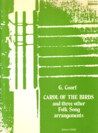Carol of the Birds and other Folksongs available at Guitar Notes.
