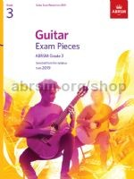 ABRSM Exam Pieces Grade 3 (2019) available at Guitar Notes.