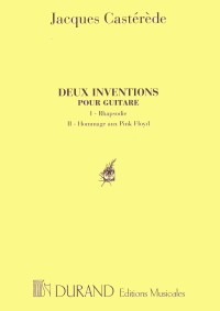 Deux Inventions available at Guitar Notes.