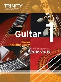 Guitar Exam Pieces Grade 1 2016-2019 available at Guitar Notes.