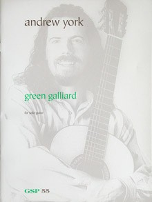 Green Galliard available at Guitar Notes.