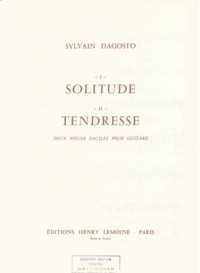 Solitude; Tendresse available at Guitar Notes.