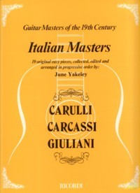 Italian Masters available at Guitar Notes.