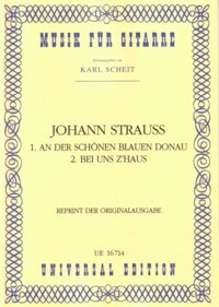 An der schonen blauen; Bei uns(Fahrbach) available at Guitar Notes.