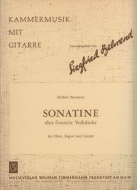 Sonatina on Finnish Folksongs [Ob/Bsn/Gtr] available at Guitar Notes.