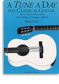 A Tune a Day for Classical Guitar Book 3 available at Guitar Notes.