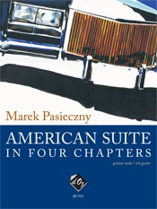 American Suite in Four Chapters available at Guitar Notes.