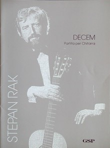 Decem, partita available at Guitar Notes.