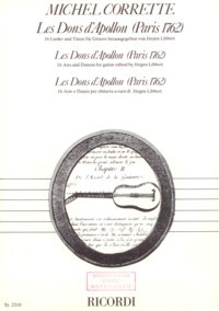 Les Dons d'Apollon(Libbert) available at Guitar Notes.