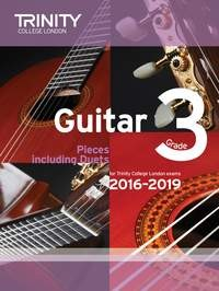 Guitar Exam Pieces Grade 3 2016-2019 available at Guitar Notes.