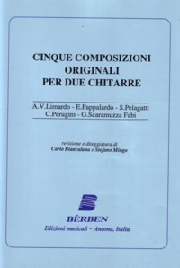 Cinque Composizioni Originali available at Guitar Notes.