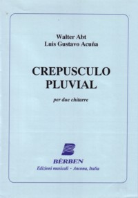 Crepusculo pluvial available at Guitar Notes.
