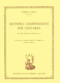 Quindici Composizioni(Tonazzi) available at Guitar Notes.