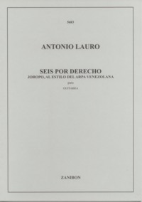 Seis por derecho, joropo available at Guitar Notes.