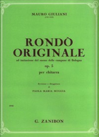 Rondo originale, op.5(Muggia) available at Guitar Notes.