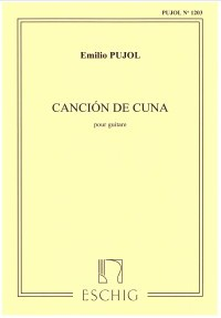 Cancion de Cuna (1203) available at Guitar Notes.