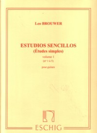 Etudes Simples, Vol.1 [1972] available at Guitar Notes.