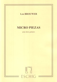 Micropiezas no.1-4 [1957-58] available at Guitar Notes.