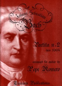 Partita no.2, BWV1004(Romero) available at Guitar Notes.