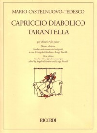 Capriccio diabolico & Tarantella(Gilardino/Biscaldi) available at Guitar Notes.