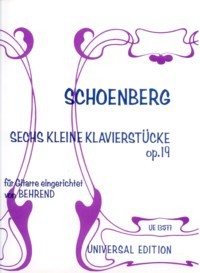 Sechs kleine Klavierstucke, op.19 available at Guitar Notes.