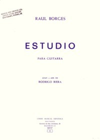 Estudio available at Guitar Notes.