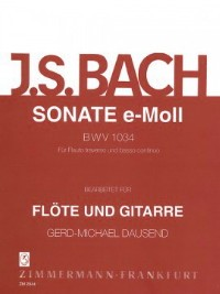 Sonata, BWV1034(Dausand) available at Guitar Notes.
