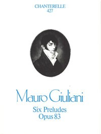 Six Preludes, op.83(Wynberg) available at Guitar Notes.