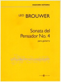 Sonata del Pensador No.4 available at Guitar Notes.