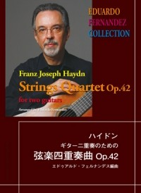 String Quartet op.42 (Fernandez) available at Guitar Notes.