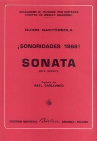 Sonata no.1 (Carlevaro) available at Guitar Notes.