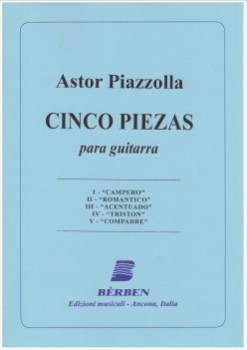 Cinco piezas (Gilardino) available at Guitar Notes.