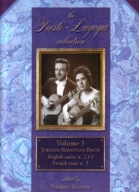 Presti-Lagoya Collection Vol.3: Bach available at Guitar Notes.