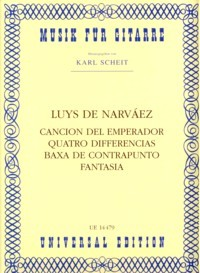Cancion del Emperador etc (Scheit) available at Guitar Notes.