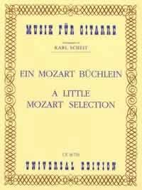 A Little Mozart Selection(Scheit) available at Guitar Notes.