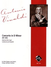Concerto in d-min, RV540 [Va d'Am & Gtr + Stgs](Segal) available at Guitar Notes.