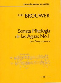 Sonata Mitologia de las Aguas No.1 [Fl & Gtr] available at Guitar Notes.