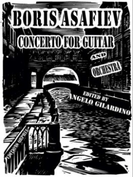 Concerto for Guitar & Orchestra [score+orch.pts] available at Guitar Notes.
