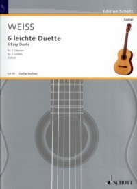 6 Easy Duets(Gotze) available at Guitar Notes.