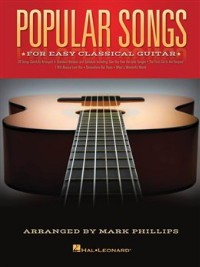 Popular Songs for Easy Classical Guitar available at Guitar Notes.
