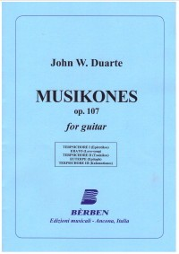 Musikones, op.107 available at Guitar Notes.