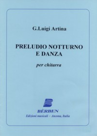 Preludio notturno e Danza available at Guitar Notes.