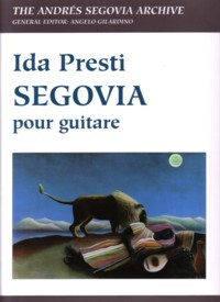 Segovia (Gilardino/Biscaldi) available at Guitar Notes.
