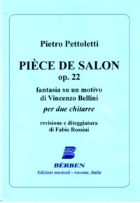 Piece de Salon, op.22(Rossini) available at Guitar Notes.
